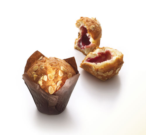Muffin Cherry Almond