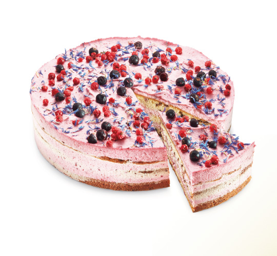 Berry Red Cake