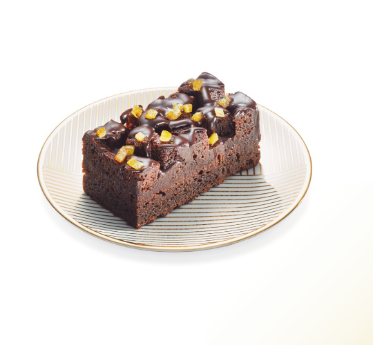 Brownie Yuzu